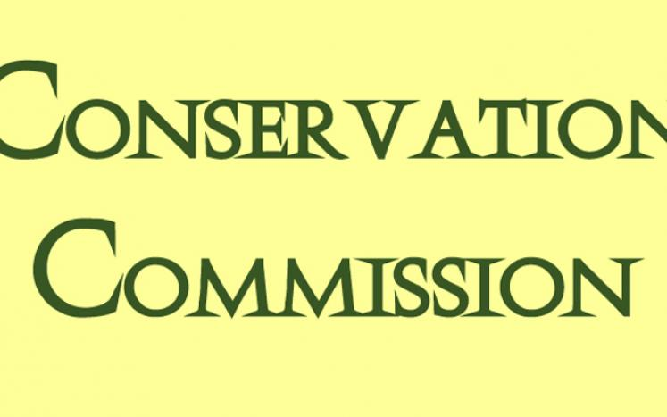 Conservation Commission meeting Thursday, May 17 at the Martha Sawyer Community Library